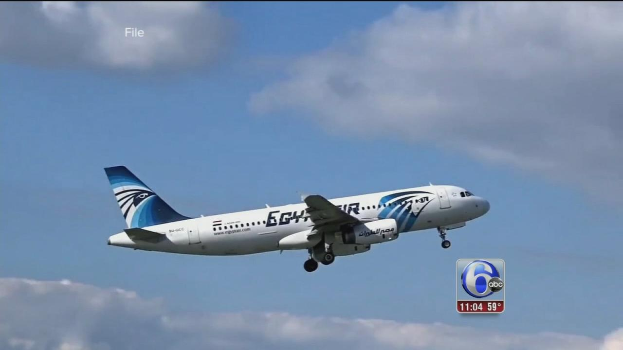 VIDEO: EgyptAir plane