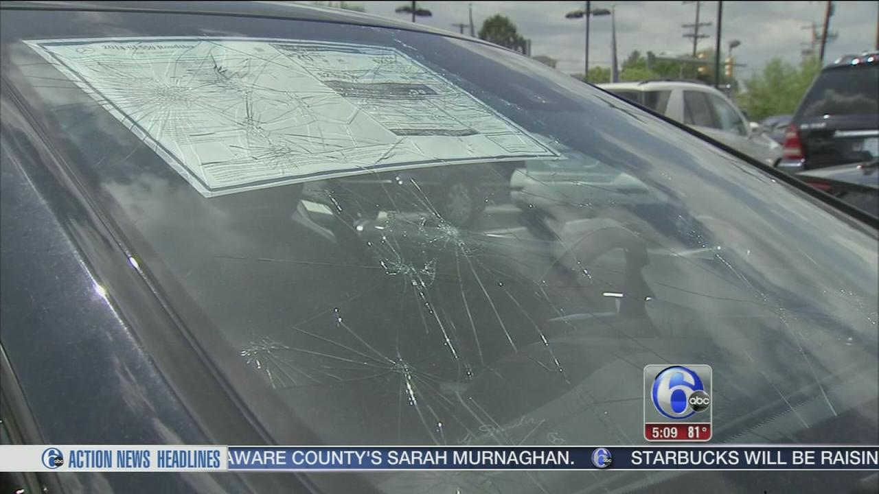 VIDEO: Recovering after Reading hail