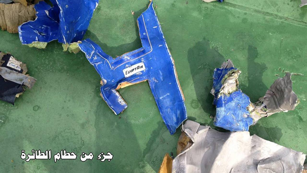 Egypt: Signals picked up from doomed plane's black box