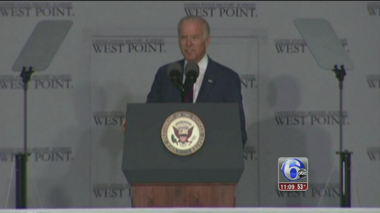 VIDEO: Biden in West Point