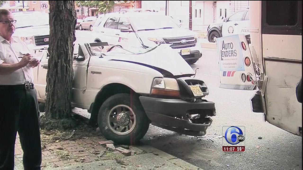 VIDEO: Bus crash