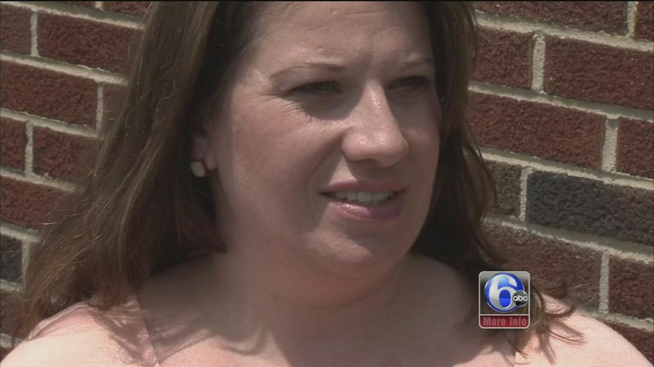 VIDEO: Lightning bolt hits inches from Bellmawr woman