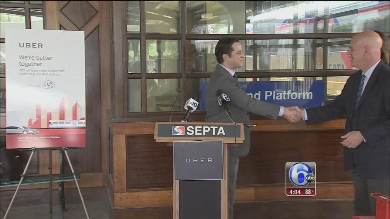 VIDEO: SEPTA, Uber create partnership