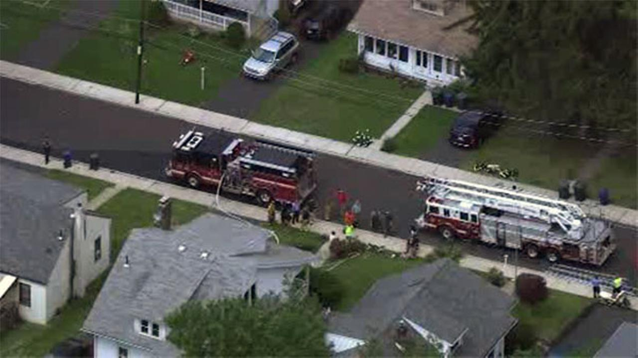 Person rescued from roof during Abington Twp. fire
