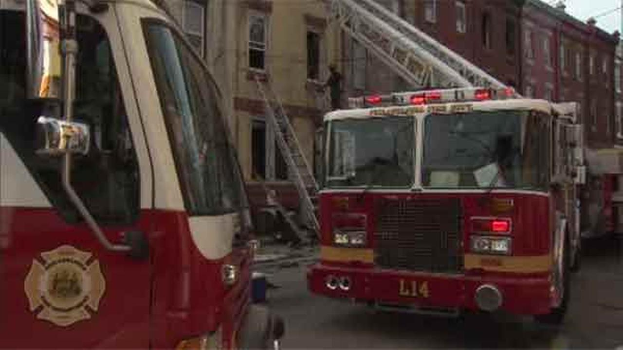 Authorities are looking into the discovery of a dead man in North Philadelphia under unusual circumstances.