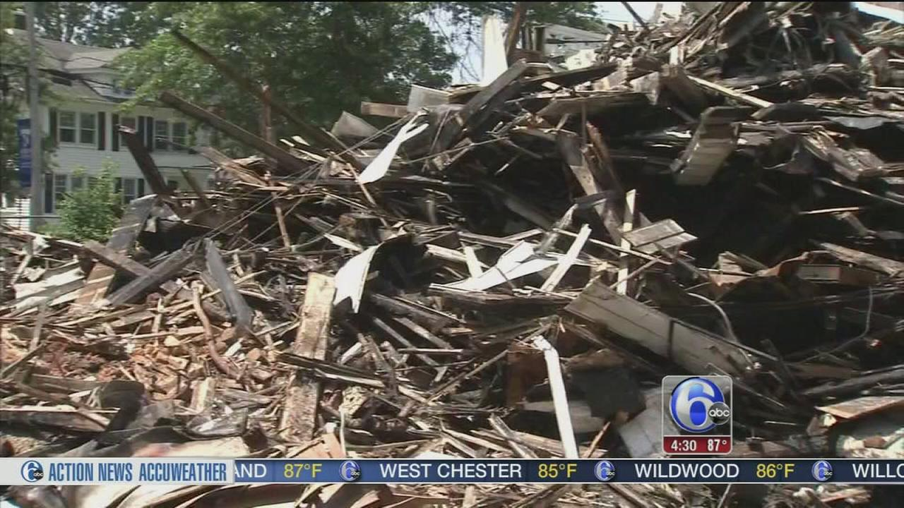 VIDEO: Fire destroys NJ nonprofit