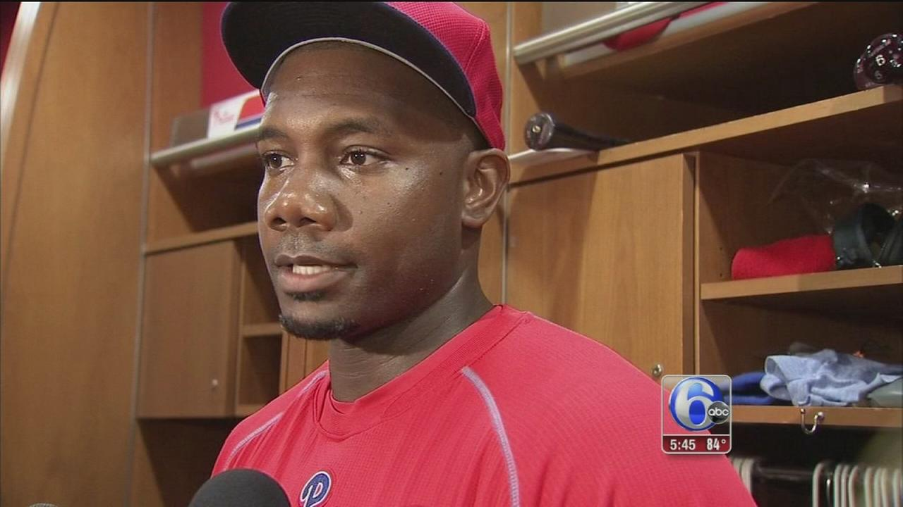 VIDEO: Ryan Howard benched