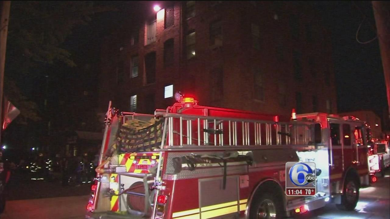 VIDEO: Apartment fire