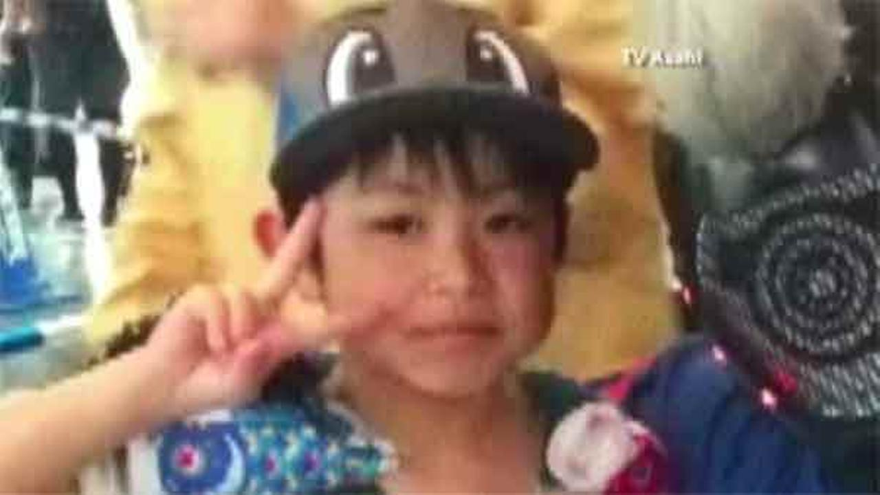 Police say a boy who went missing after his parents reportedly left him in a forest as punishment six days ago has been found.
