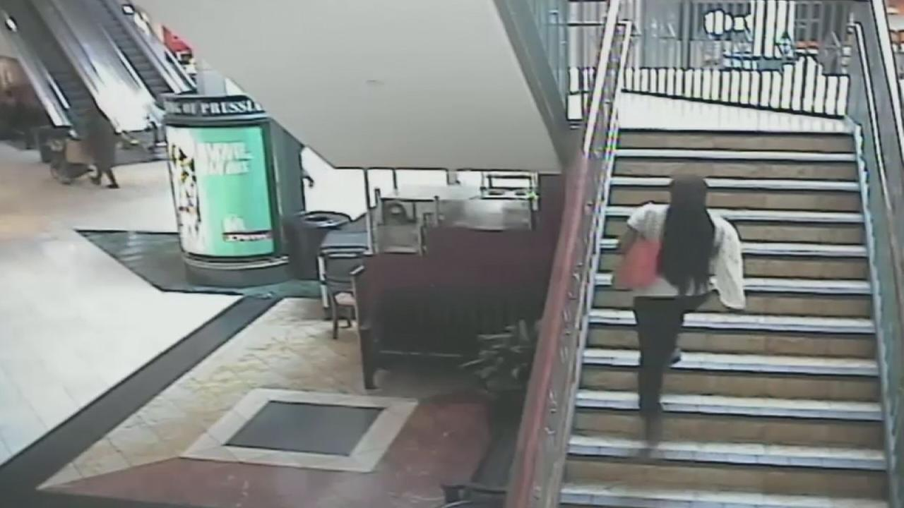 VIDEO: Surveillance video of mall kidnapping