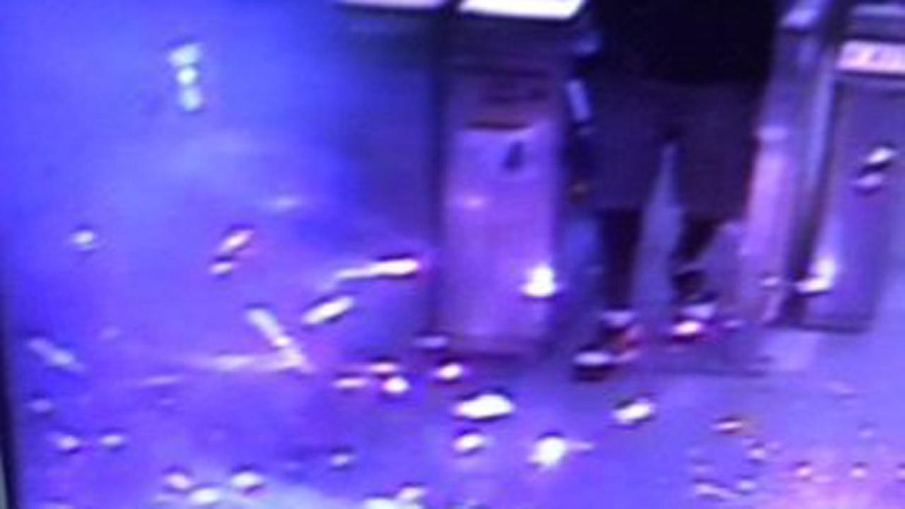 Fireworks set off inside cashier booth at SEPTA station
