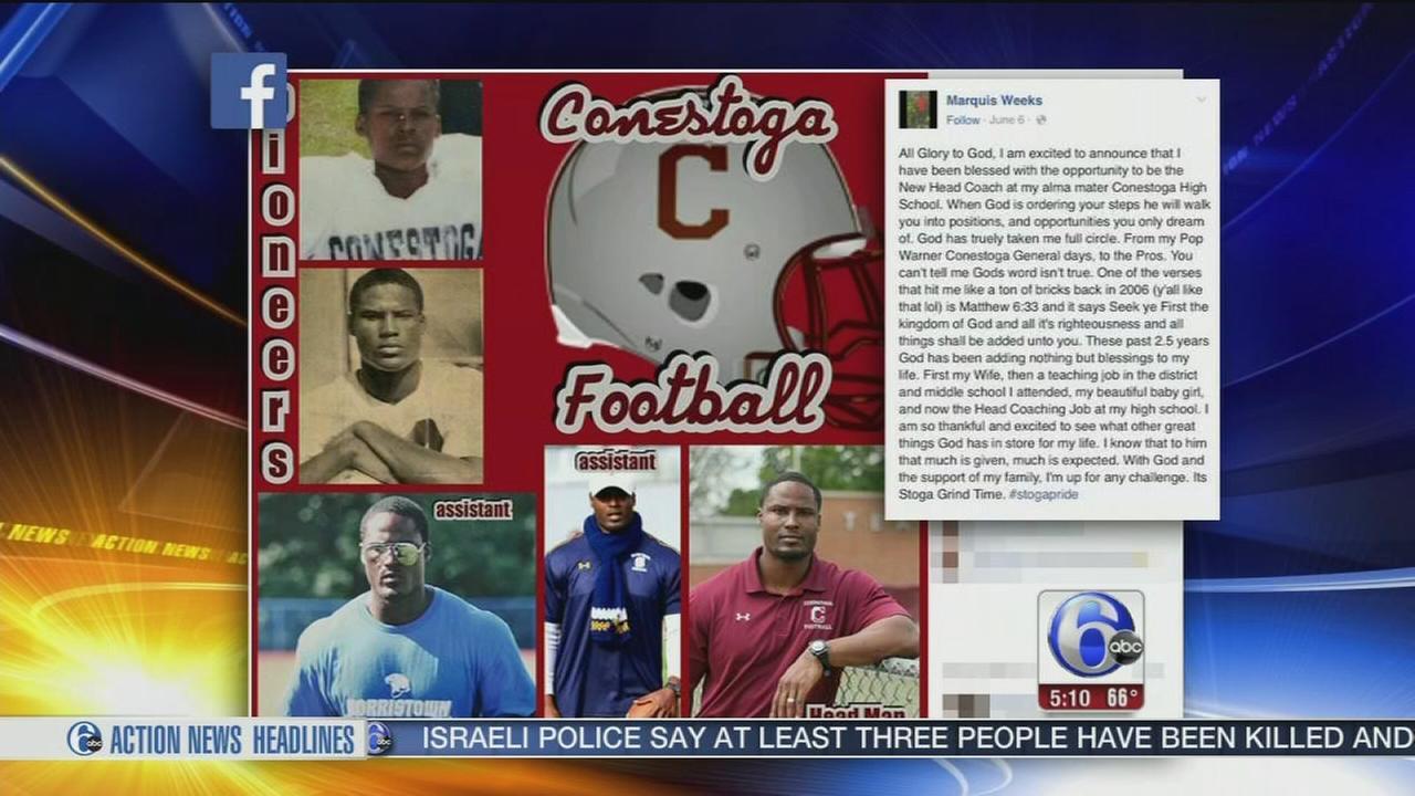 VIDEO: Conestoga names news football coach