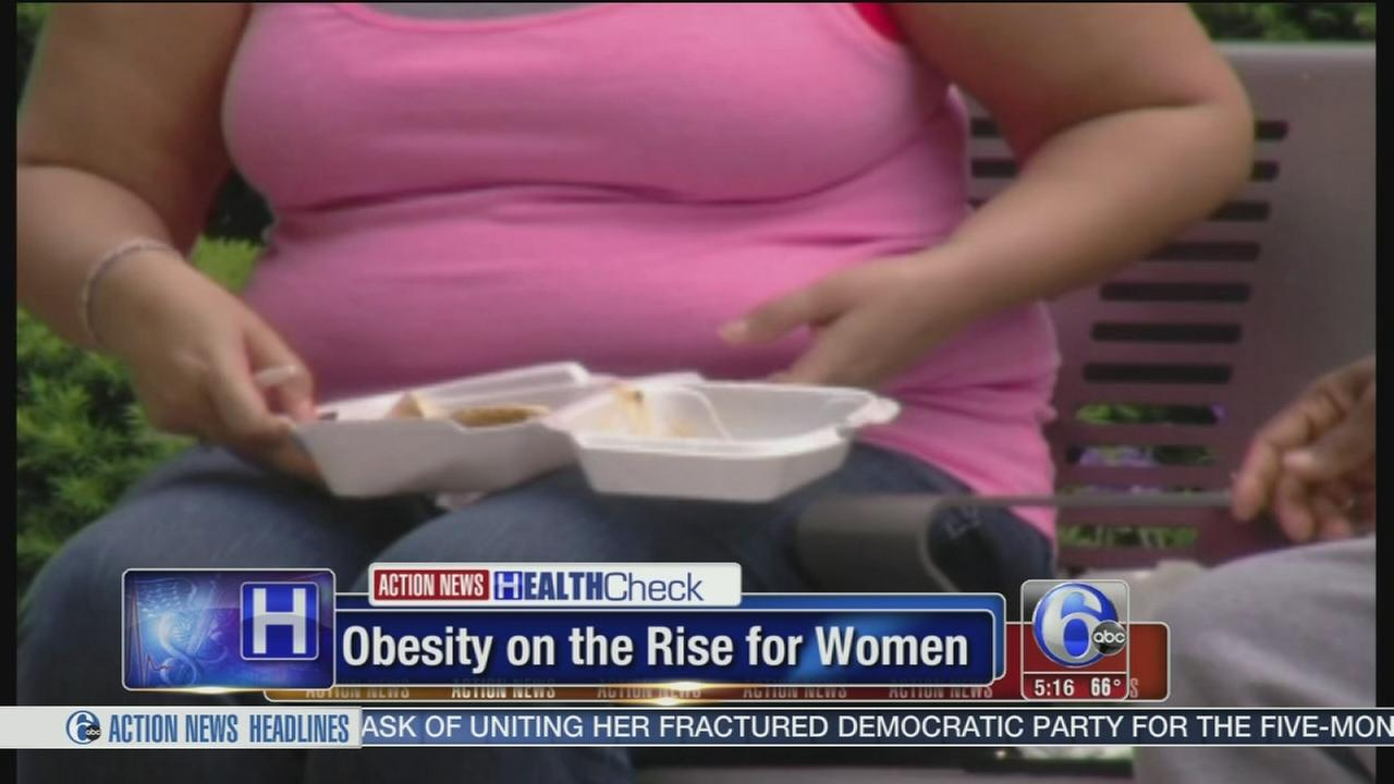 VIDEO: Obesity on the rise for women