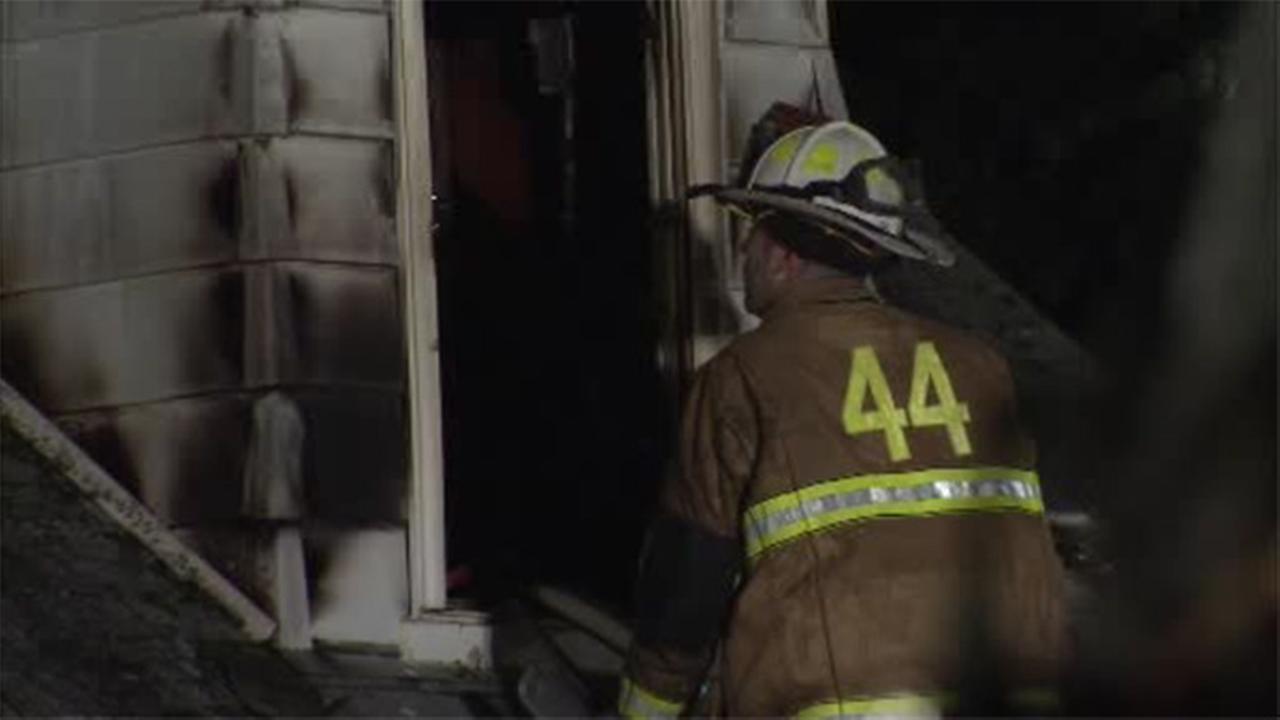 Man found dead in burning Delco home