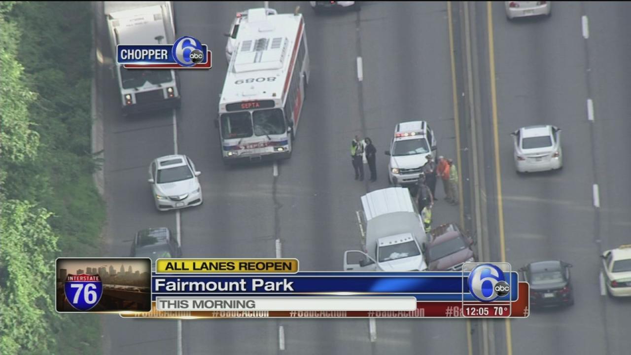 VIDEO: I-76 back open after crash