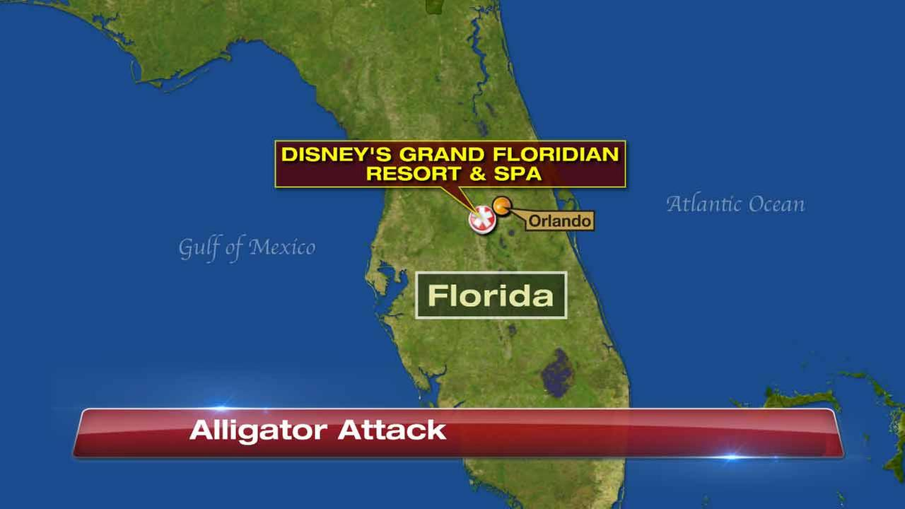 Police: Child dragged into lake by alligator at Disney World