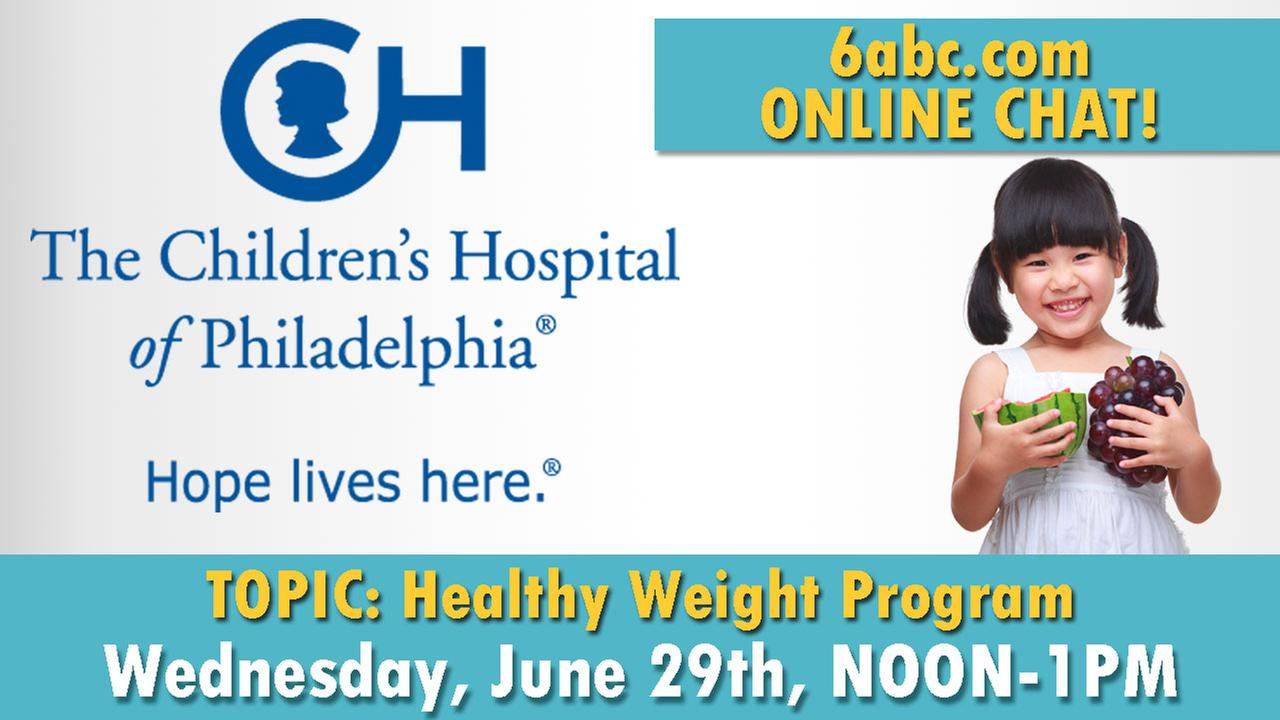READ TRANSCRIPT: Chat with CHOP About Kids' Healthy Weight