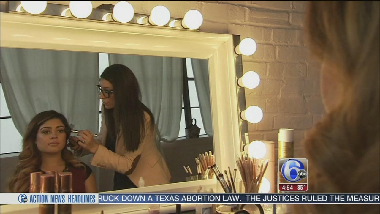 VIDEO: Local makeup artist creates own beauty line