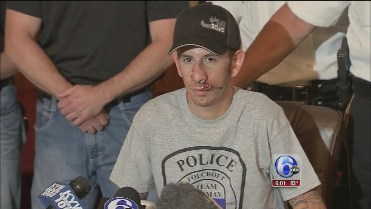 VIDEO: Folcroft officer released from hospital