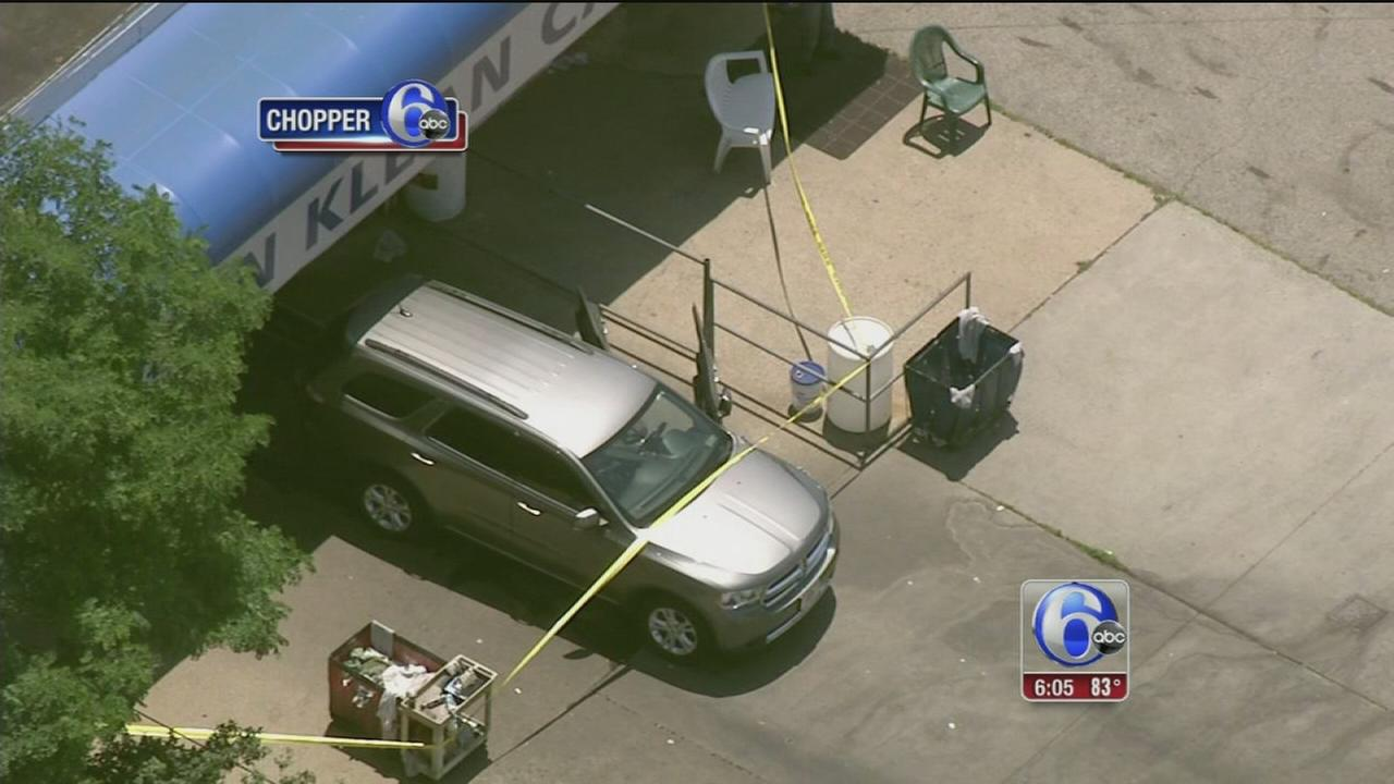 VIDEO: Worker killed in car wash mishap in Northeast Philly