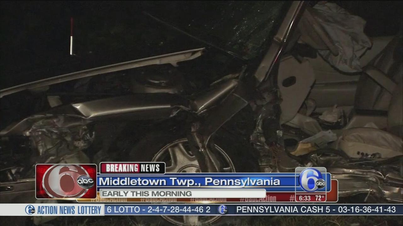 VIDEO: Deadly crash in Bucks Co.