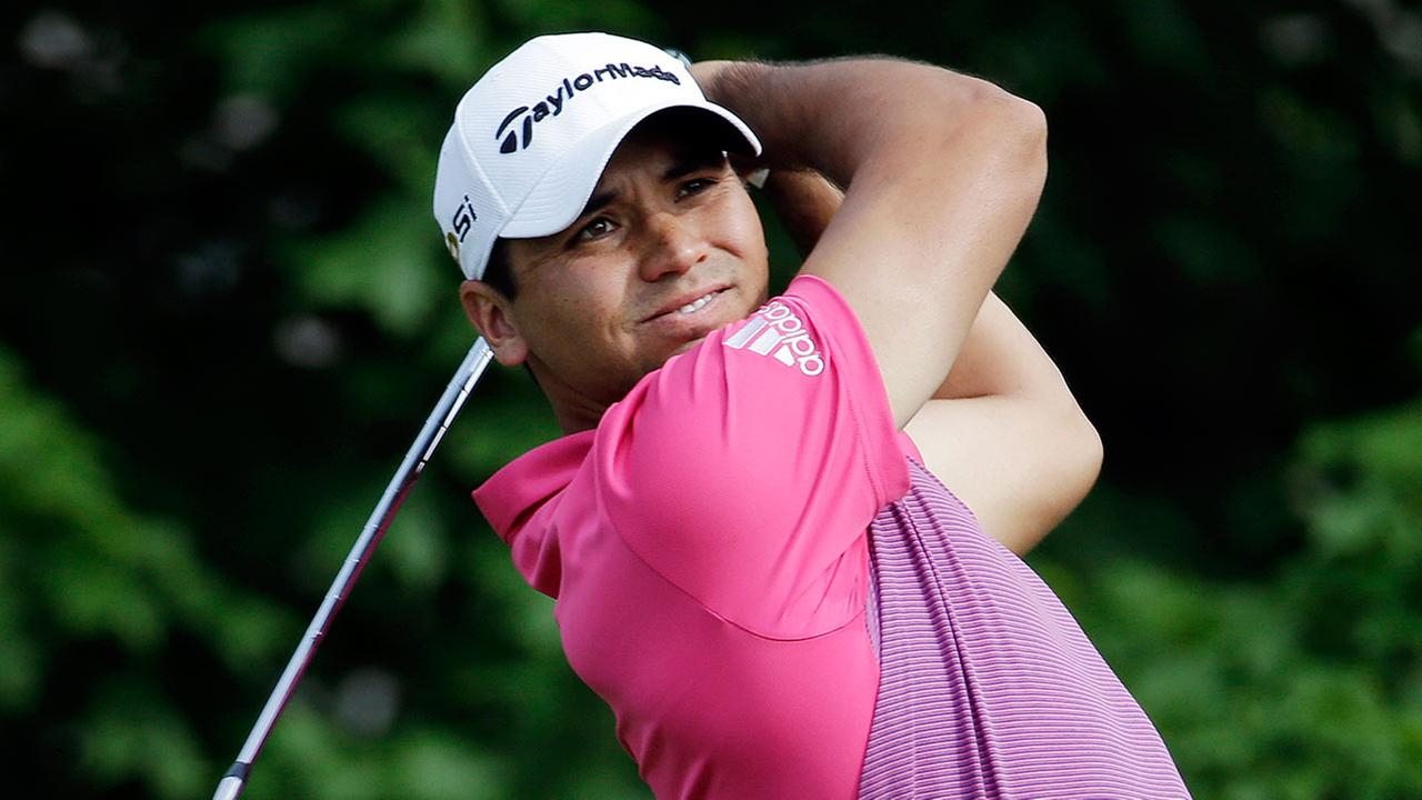 In this June 3, 2016, file photo, Jason Day, of Australia, tees off on the 14th hole during the second round of the Memorial golf tournament in Dublin, Ohio.
