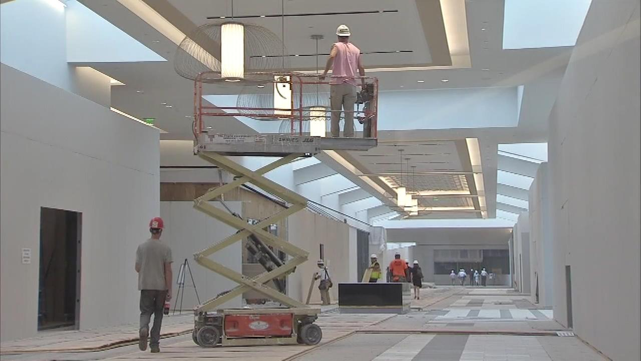 tour of new king of prussia mall corridor 6abccom