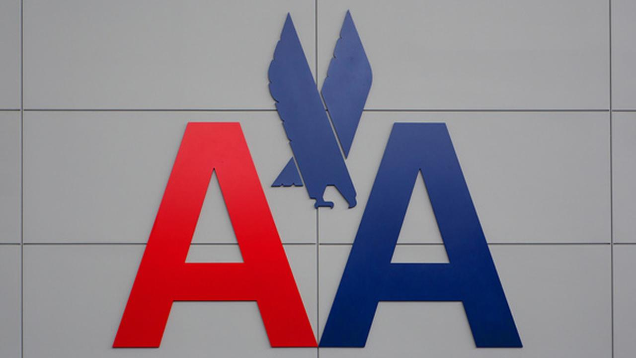 MAY 20, 2015: American Airlines logo.