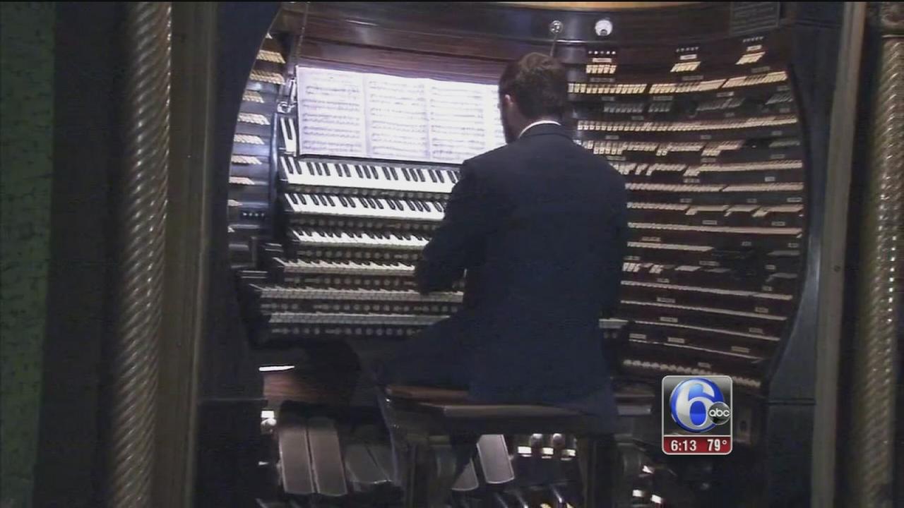 VIDEO: Historic organ in Atlantic City