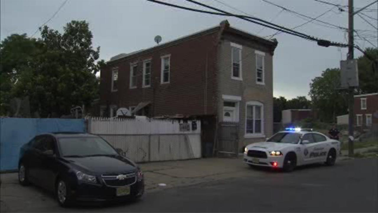 A man is hospitalized after a shooting in Camden, New Jersey.