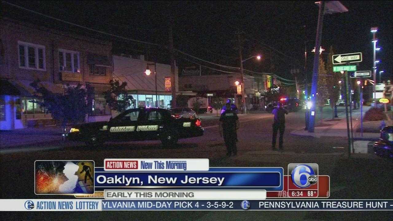 VIDEO: Pedestrian struck in Oaklyn, N.J.