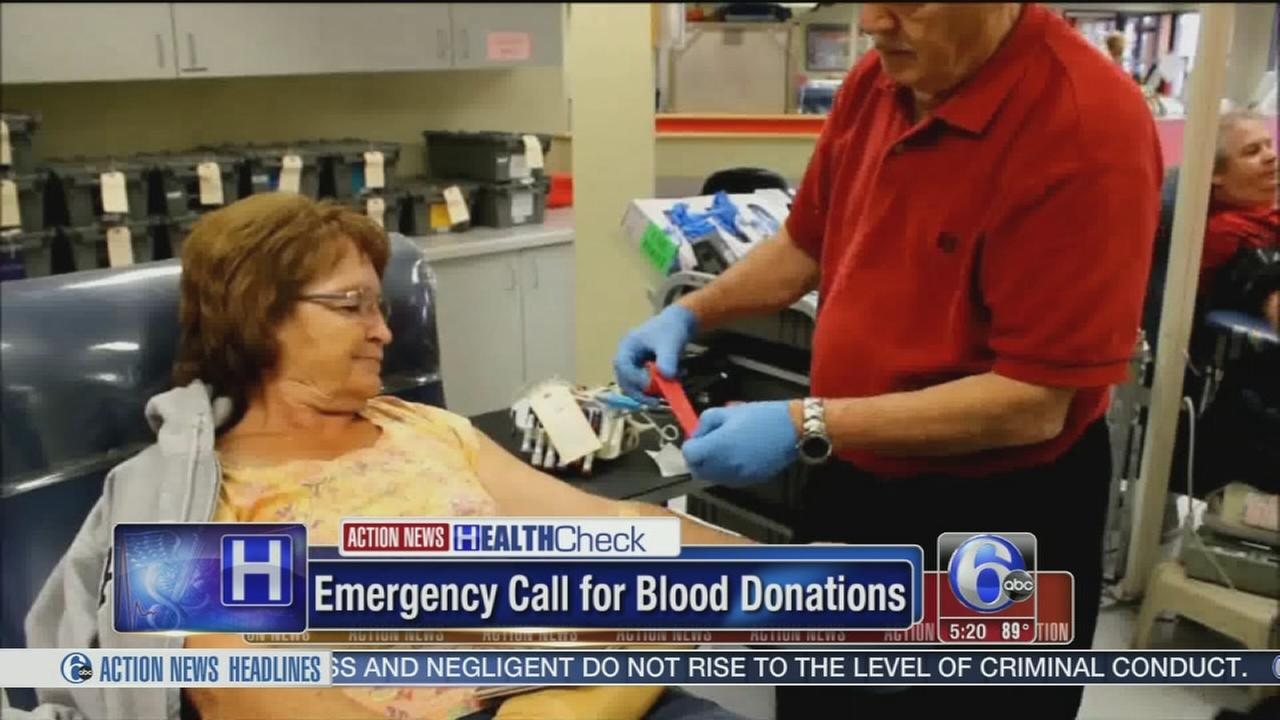 VIDEO: Red Cross issues emergency call for blood and platelet donations