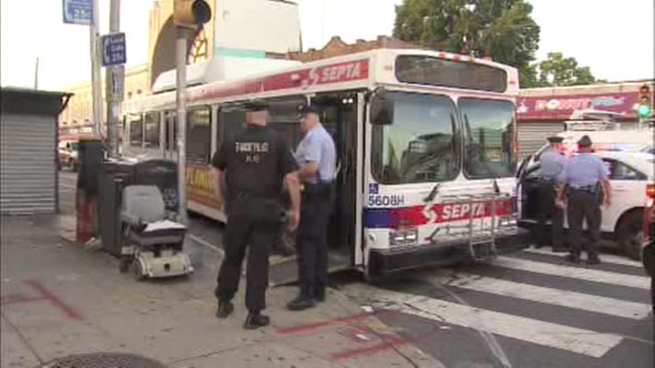 Police: SEPTA driver pushed, sprayed with mace