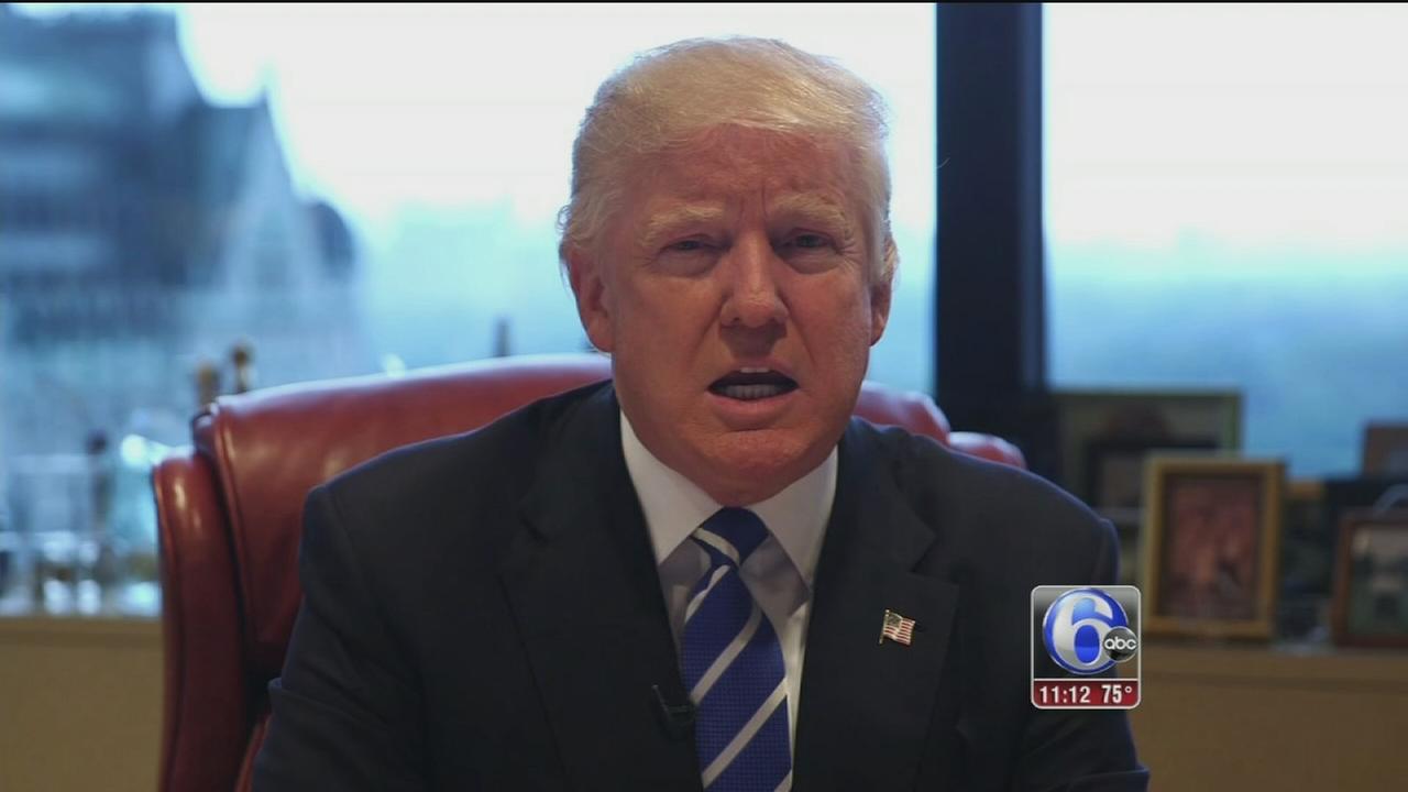 VIDEO: Trump reacts to Dallas attack
