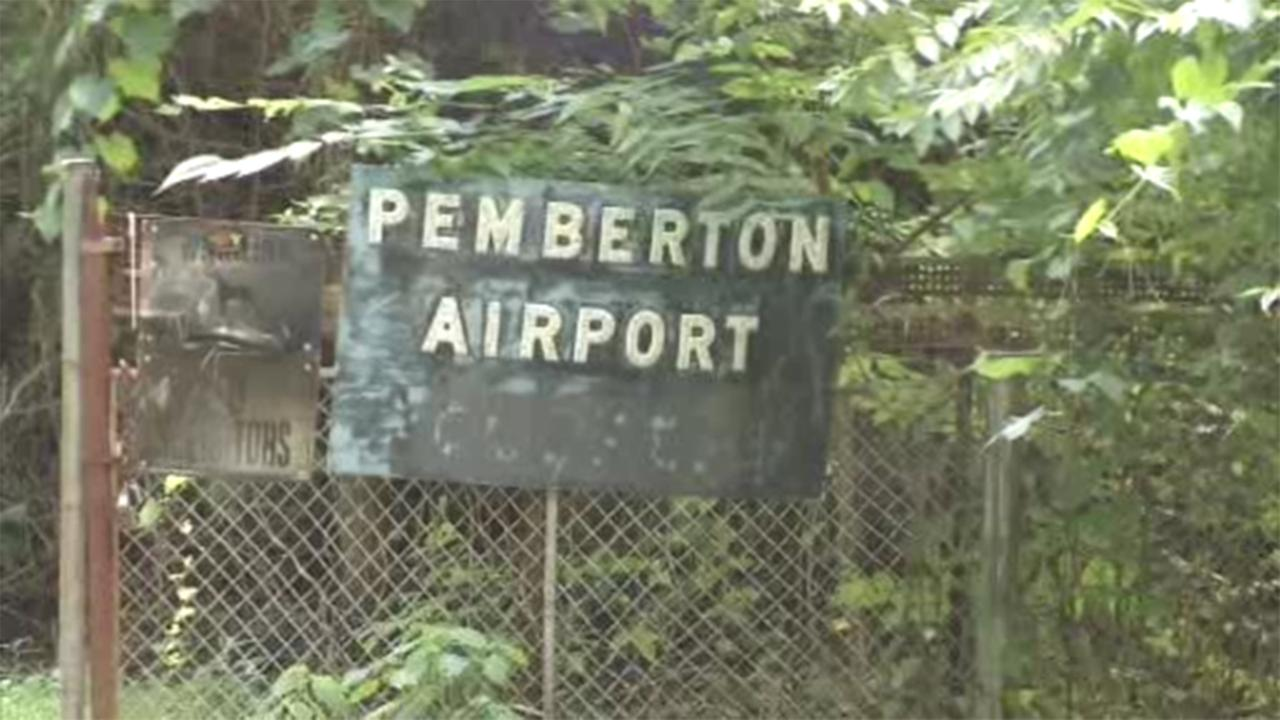 One person was seriously injured during a small plane crash in Pemberton, Burlington County.