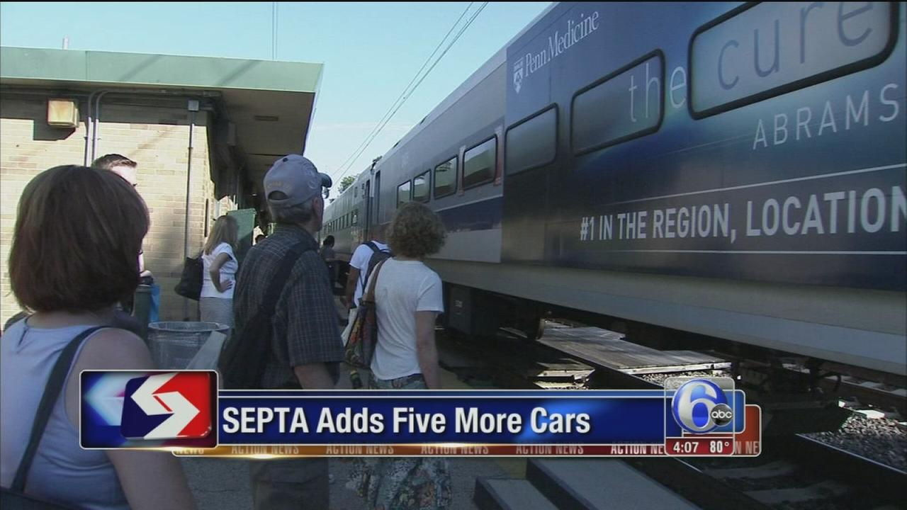 VIDEO: SEPTA adds five more cars
