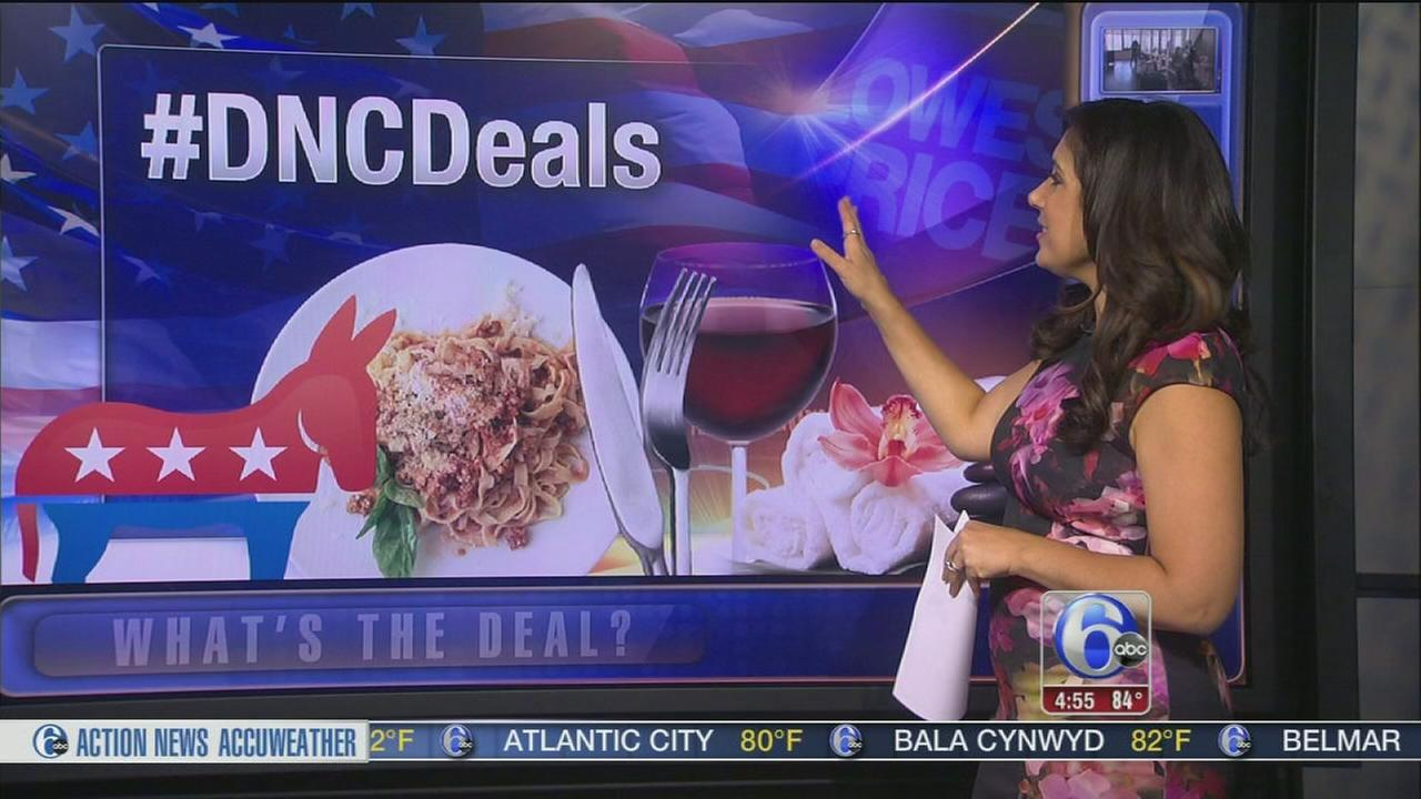 VIDEO: DNC deald from local businesses