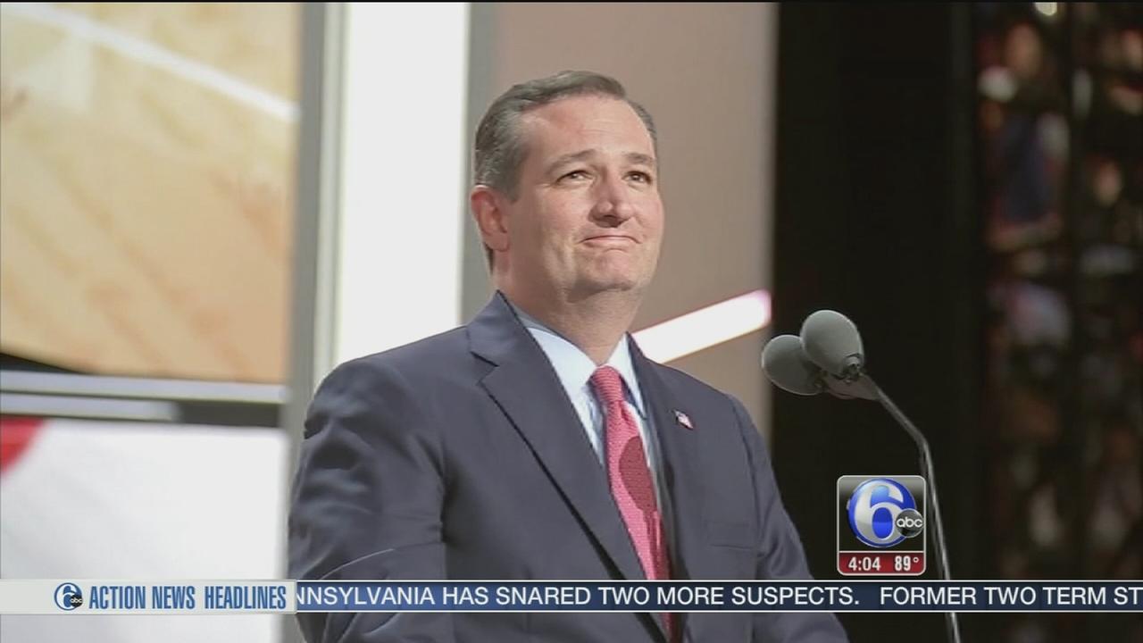 VIDEO: NJ delegates react to Cruz failing to endorse Trump