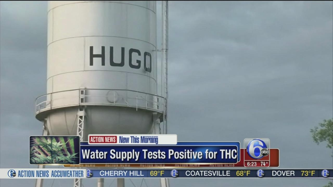 VIDEO: Water supply tests positive for THC