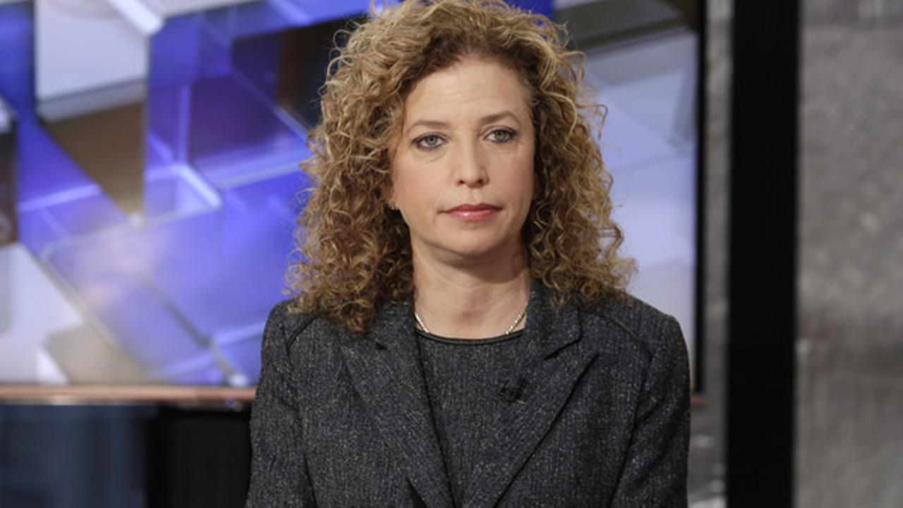 Chair of the Democratic National Committee and U.S. Rep Debbie Wasserman Schultz, D-FL, is interviewed by Maria Bartiromo during her Mornings with Maria program.