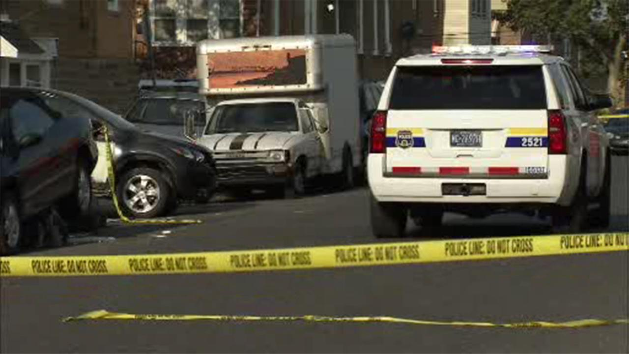 A 55-year-old man is hospitalized following a shooting in the Feltonville section of Philadelphia.