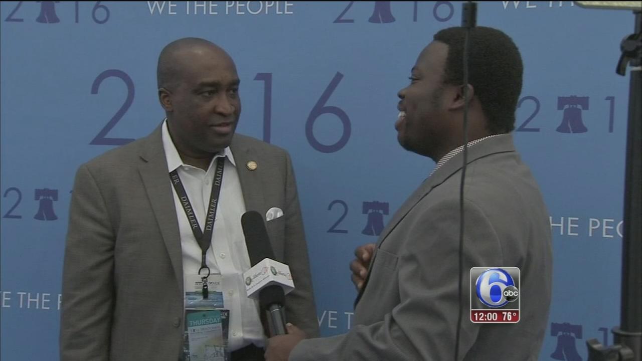 VIDEO: International media DNC