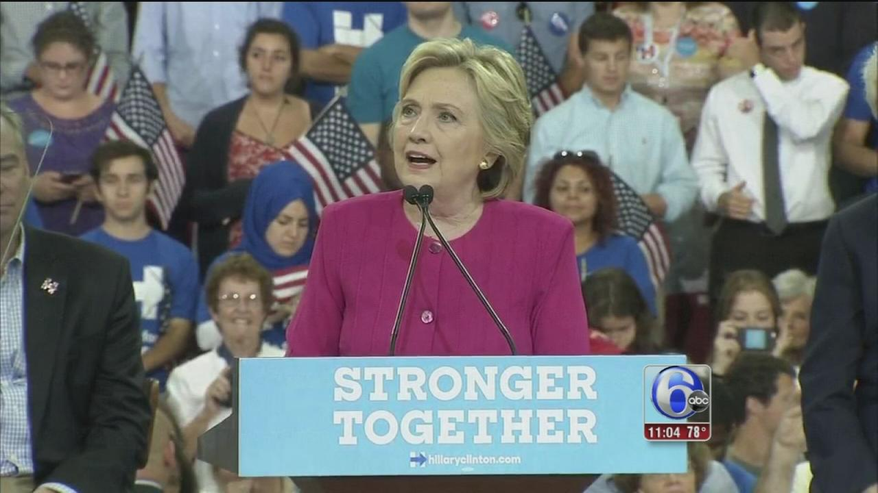 VIDEO: Clinton-Kaine tour