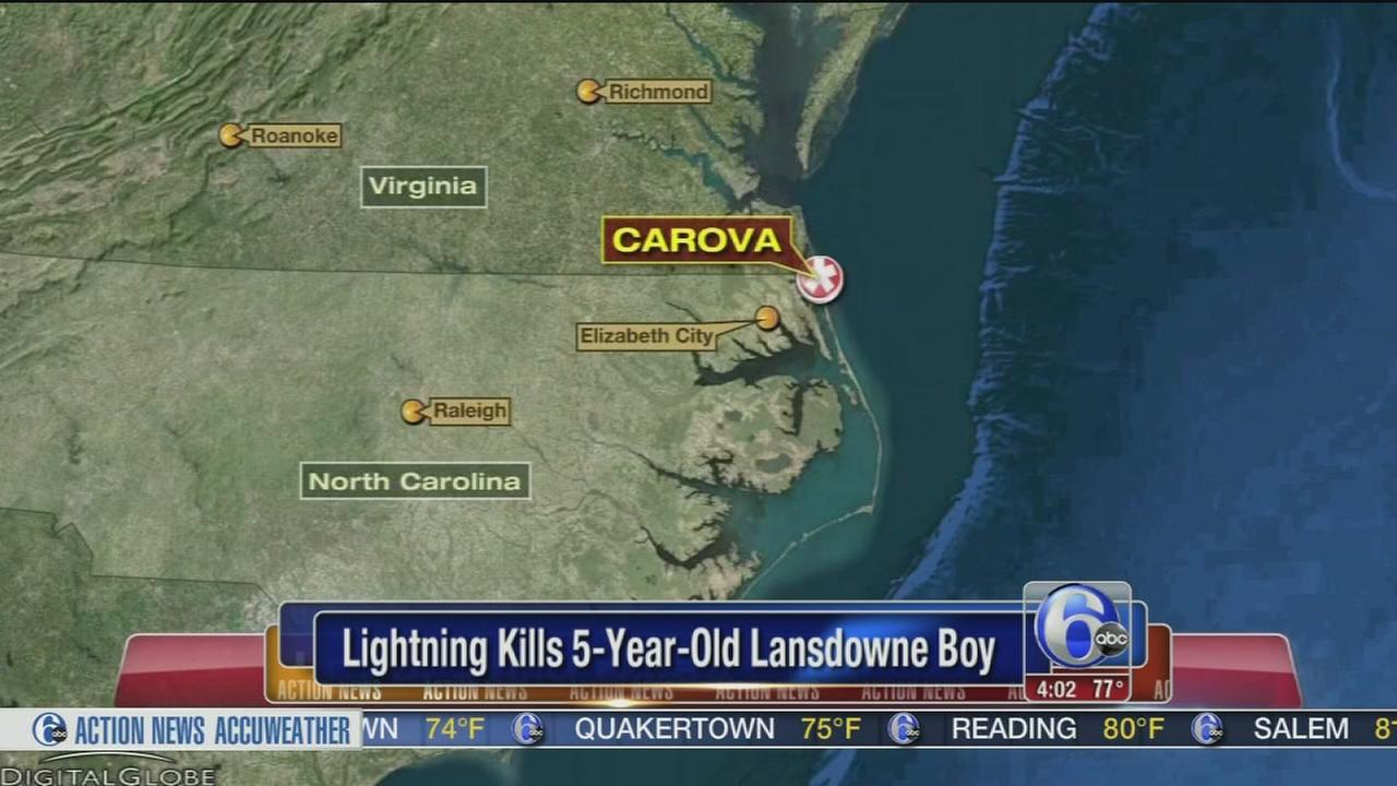 VIDEO: 5-year-old killed by lightning