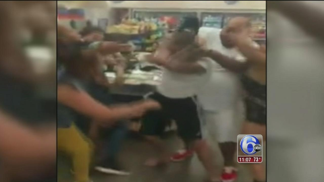 VIDEO: Wawa brawl caught on tape