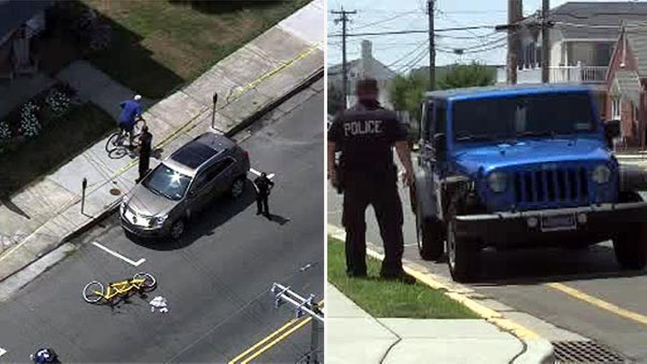 2 hospitalized after Jeep hits tandem bicycle in Wildwood Crest, N.J.