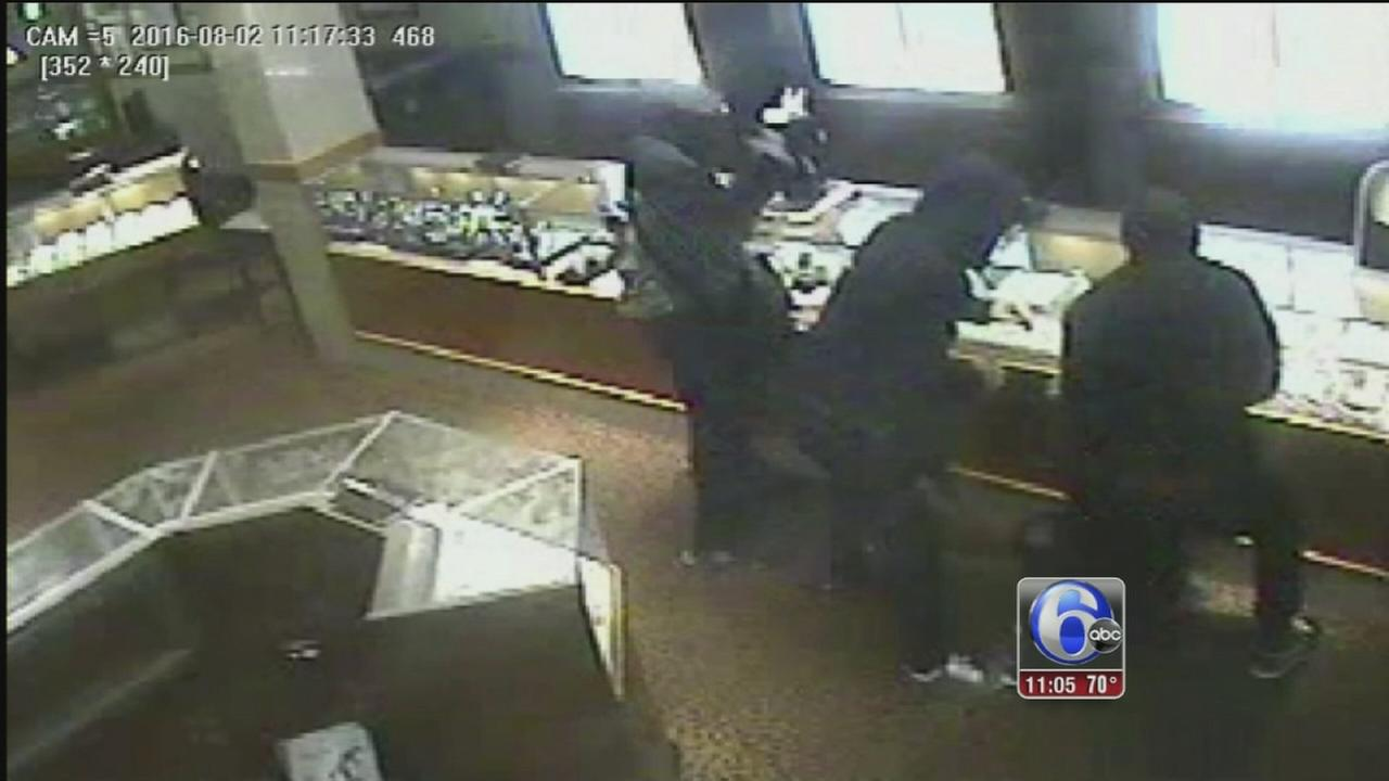 VIDEO: Smash and grab at Montgomery Mall