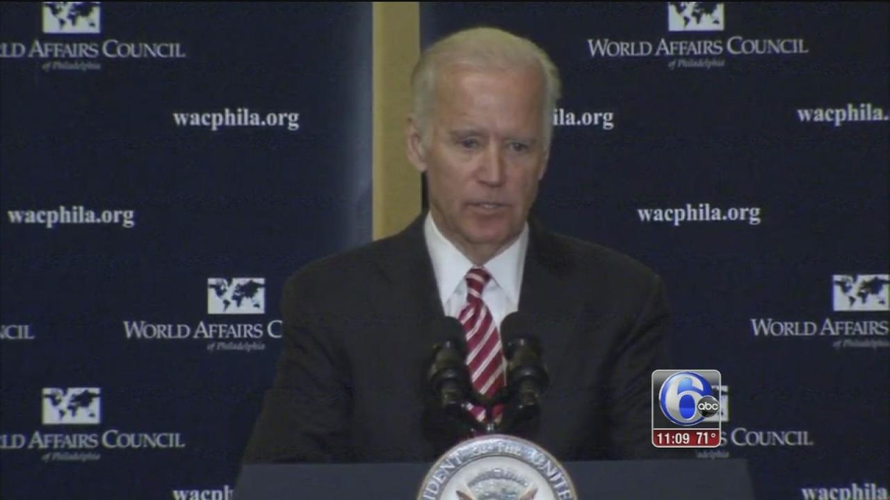 VIDEO: Biden in Philly