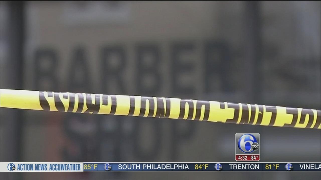 VIDEO: Barbershop shooting