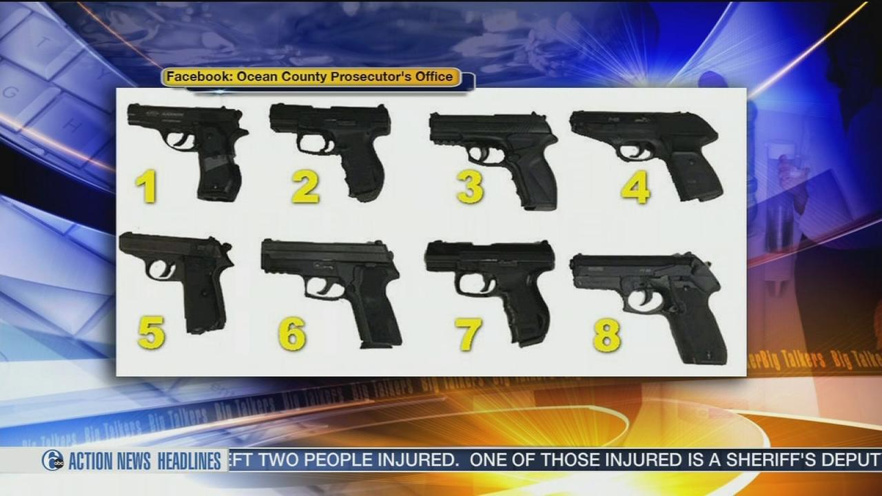 VIDEO: Which of these 8 guns is real?